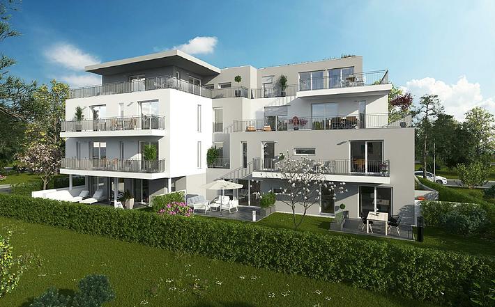 Wohnpark Straubing (17 Wohnungen, 18 TG-Stellplätze)