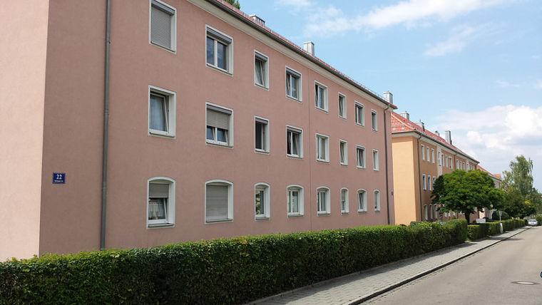 Sailerstraße 12-14, Rotteneckstraße 12-22, Bischof-Konrad-Straße 6-8 (66 Wohnungen)
