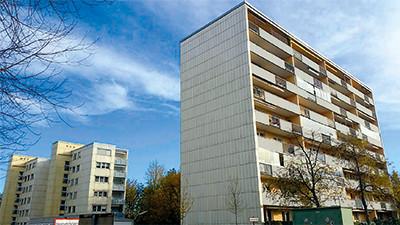 Lechstr. 28-38 in Regensburg (93 Wohnungen und 31 Garagen)