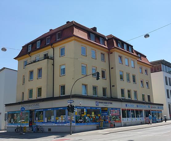 Luitpoldstr. 2 in Regensburg (20 Wohnungen, 3 Gewerbeeinheiten und 1 Garage)